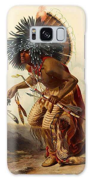 Hidatsa Warrior Galaxy Case
