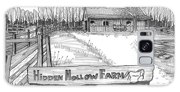 Hidden Hollow Farm 1 Galaxy Case