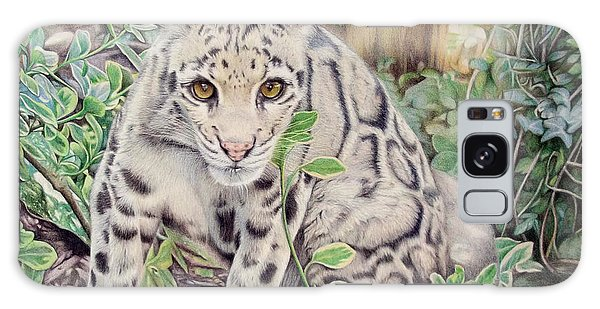Galaxy Case - Hidden In Plain Sight - Clouded Leopard by Jill Parry