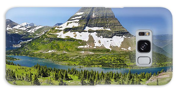 Hidden Lake In Glacier National Park Galaxy Case