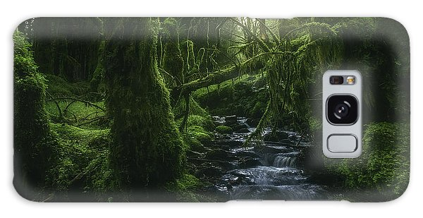 Stream Galaxy Case - Hidden Wood by Javier De La