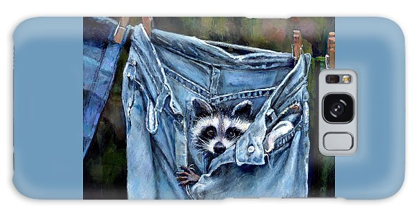 Hiding In My Jeans Galaxy Case by Donna Tucker