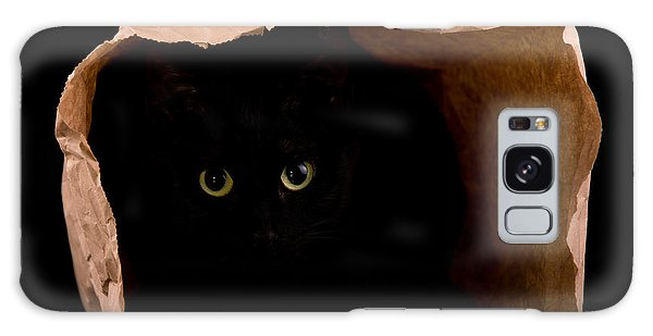 Hiding In The Paper Bag Galaxy Case