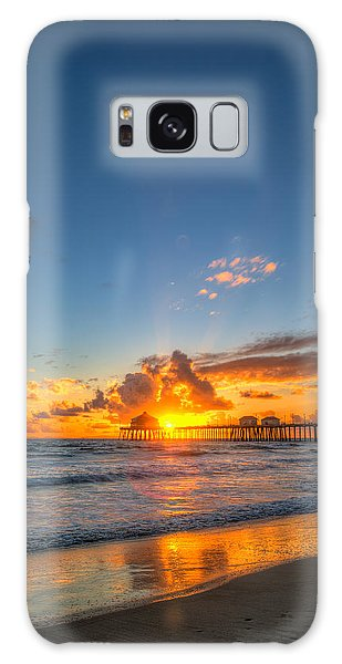 Hiding Sunset Galaxy Case