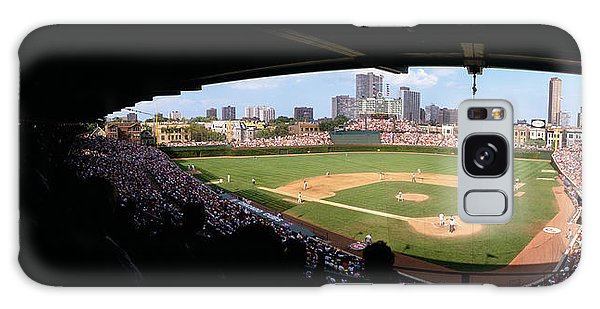 High Angle View Of A Baseball Stadium Galaxy S8 Case