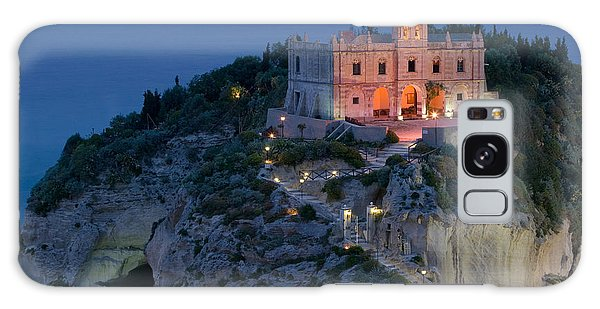Place Of Worship Galaxy Case - High Angle View Of A Church Lit by Panoramic Images