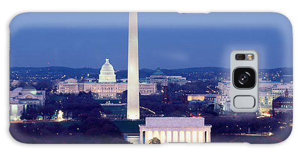 Lincoln Memorial Galaxy S8 Case - High Angle View Of A City, Washington by Panoramic Images