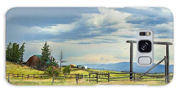 High Country Farm Galaxy Case by Theresa Tahara