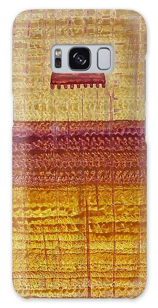 High Desert Horizon Original Painting Galaxy Case by Sol Luckman