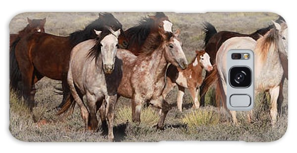 High Desert Horses Galaxy Case