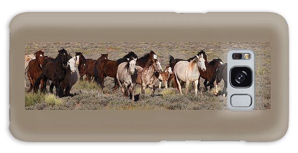 High Desert Horses Galaxy Case
