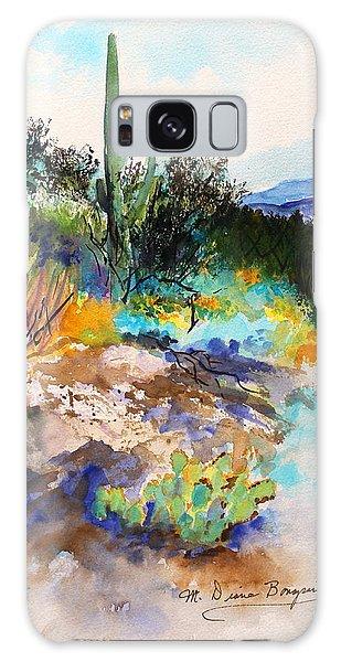 High Desert Scene 2 Galaxy Case by M Diane Bonaparte