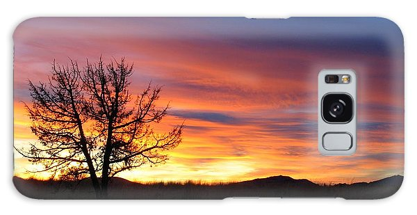 High Desert Sunset Galaxy Case by Kevin Desrosiers