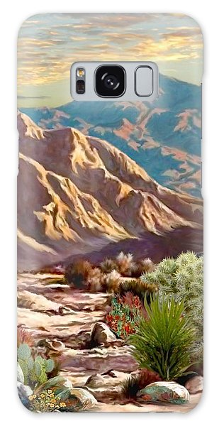High Desert Wash Portrait Galaxy Case