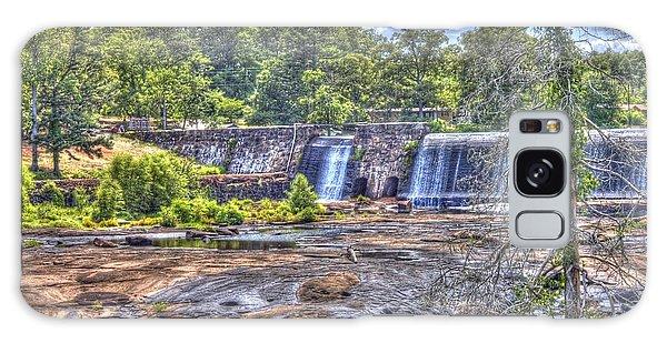 High Falls Dam Galaxy Case by Donald Williams