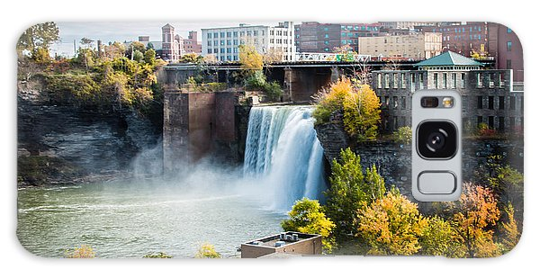 High Falls Rochester Galaxy Case by Sara Frank
