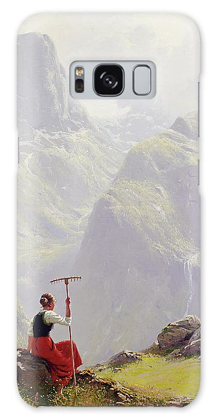 High In The Mountains Galaxy Case