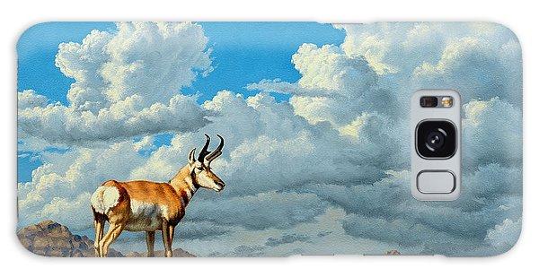 Cloudscape Galaxy Case - High Meadow - Pronghorn by Paul Krapf