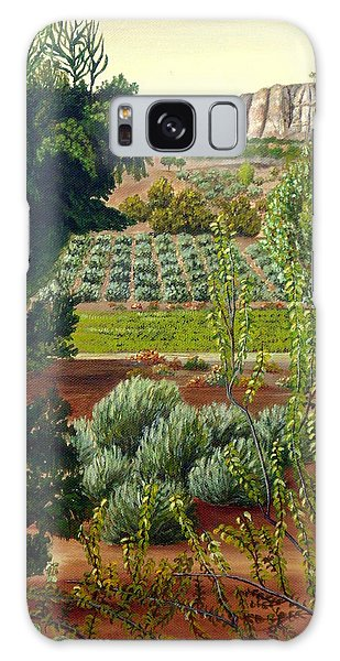 High Mountain Olive Trees  Galaxy Case