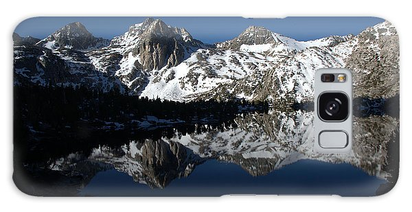 High Sierra Mountain Reflections 1 Galaxy Case