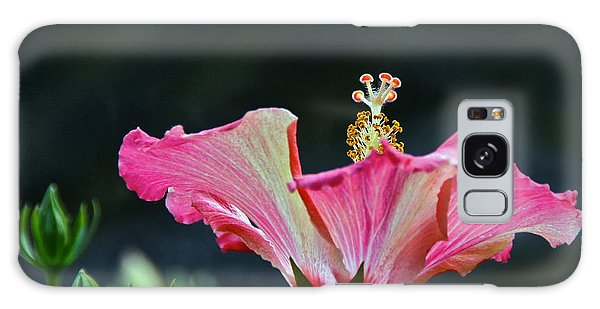 High Speed Hibiscus Flower Galaxy Case