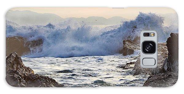 High Tide At Port Renfrew Galaxy Case