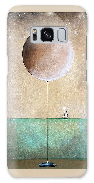 Moon Galaxy Case - High Tide by Cindy Thornton