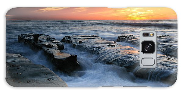 High Tide Sunset 2 Galaxy Case