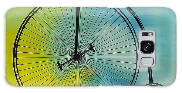 High Wheel Bicycle Galaxy Case by Marvin Blaine