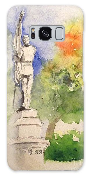 Highland Cemetery-plein Air-ypsilanti Michigan 1 Galaxy Case by Yoshiko Mishina