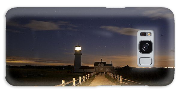 Highland Light North Truro Galaxy Case