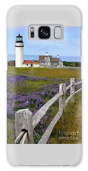 Highland Lighthouse Galaxy Case by Paula Guttilla