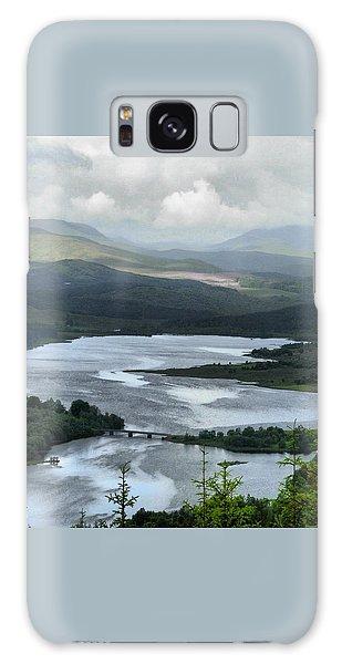 Highland Loch At Lochaber Galaxy Case