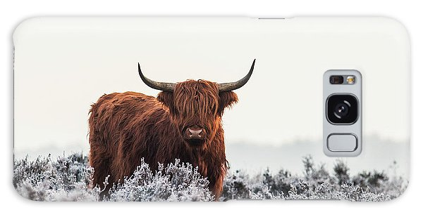 Furry Galaxy S8 Case - Highlander by Jaap Van Den
