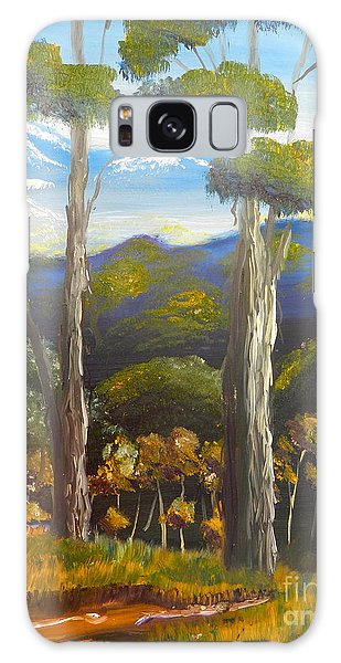 Highlands Gum Trees Galaxy Case