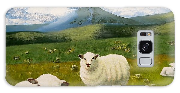 Highlands Sheep Galaxy Case by Tim Townsend