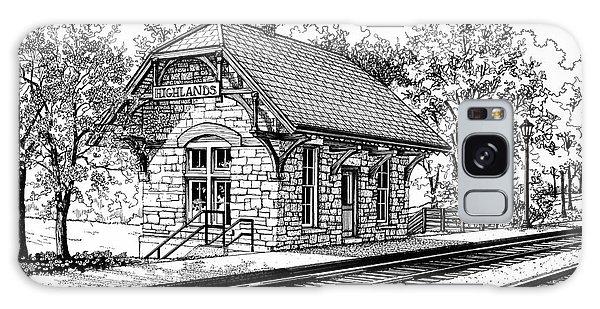 Highlands Train Station Galaxy Case