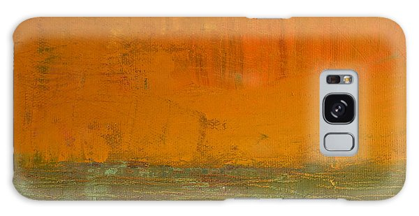 Abstract Expressionism Galaxy Case - Highway Series - Grasses by Michelle Calkins