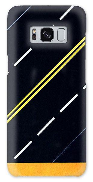 Highway Galaxy Case by Thomas Gronowski