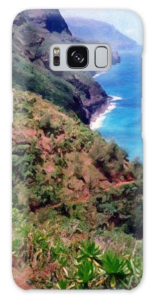 Trail To Kalalau Galaxy Case
