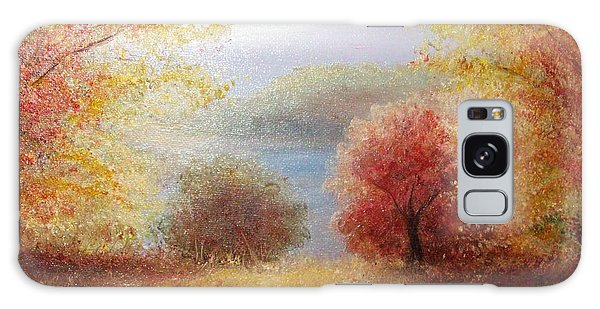 Hill Country Autumn Galaxy Case