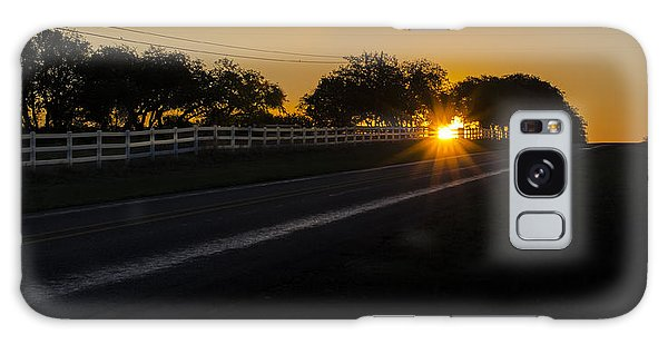 Hill Country Sunrise 2 Galaxy Case
