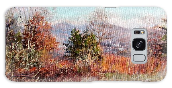 Hill Top View- In Autumn Galaxy Case
