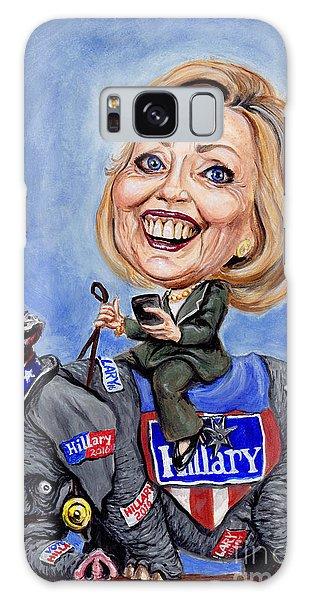 Hillary Clinton 2016 Galaxy Case by Mark Tavares