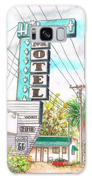 Hillcrest Motel In Route 66 - Andy Devine Ave In Kingman - Arizona Galaxy Case