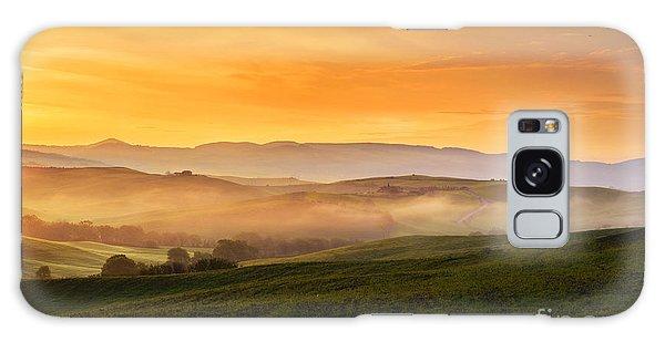 Hills And Fog Galaxy Case by Yuri Santin