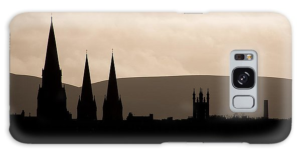 Hills And Spires Galaxy Case