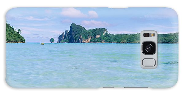 Phi Phi Island Galaxy Case - Hills In The Ocean, Loh Dalum Bay, Ko by Panoramic Images