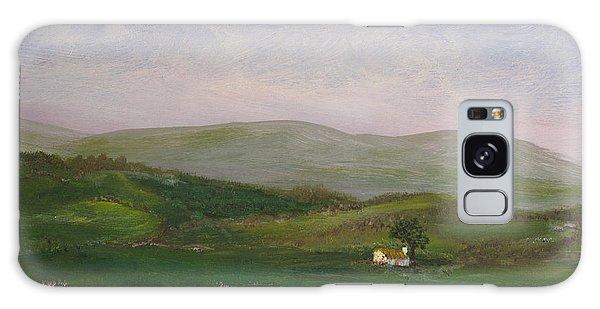 Hills Of Ireland Galaxy Case