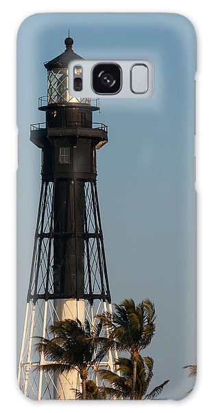 Hillsboro Inlet Lighthouse In The Evening Galaxy Case by Ed Gleichman